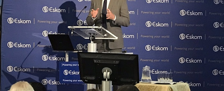 New CEO Andre de Ruyter at a briefing at Megawatt Park on 31 January 2020. Picture: Bonga Dlulane/EWN