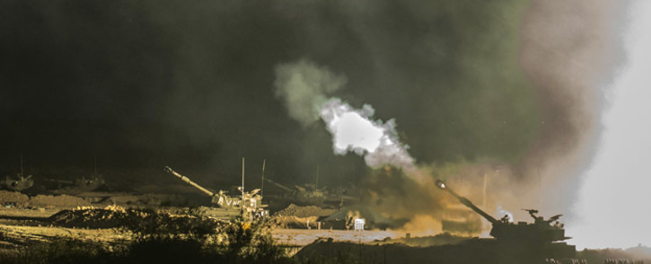 FILE: Israel said it would hold fire in most of the Gaza Strip on Monday to facilitate the entry of humanitarian aid.  Picture: AFP.