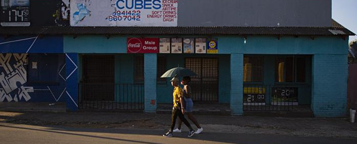 Spaza shops in Soweto have closed down due to Covid-19 lockdown on 9 May 2020. Picture: Sethembiso Zulu/EWN