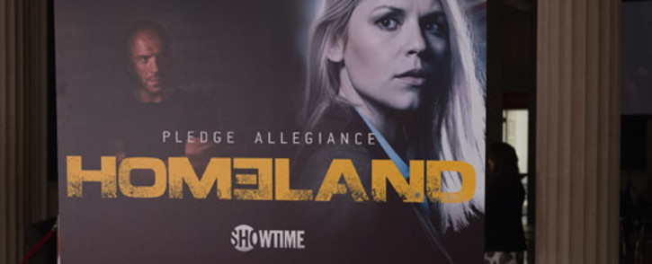Homeland poster. Picture: AFP