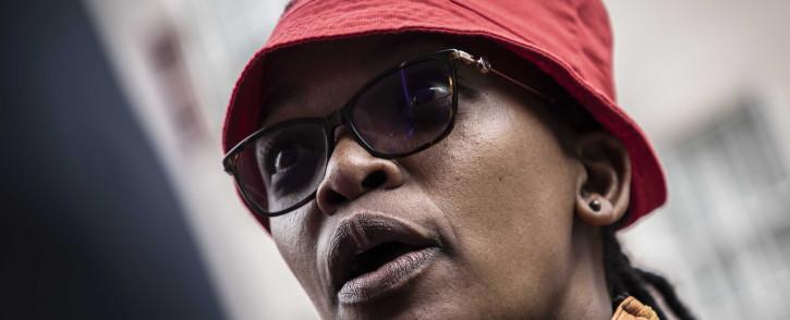 Cosatu President Zingiswa Losi. Picture: Abigail Javier/Eyewitness News