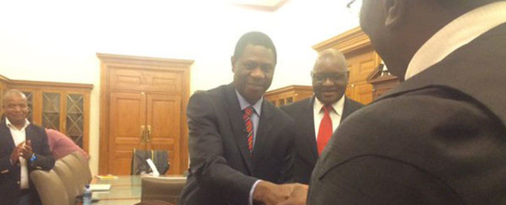 Gauteng's new Human Settlements MEC Paul Mashatile has been sworn into office. Picture: Dineo Bendile/EWN