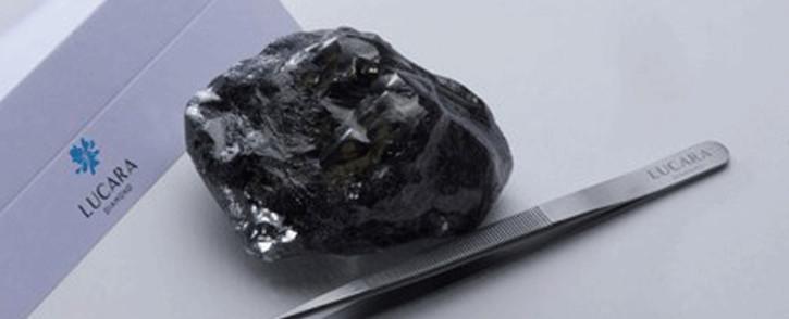 Lucara recovers record 1,758 carat diamond from Karowe on. Picture: lucaradiamond.com