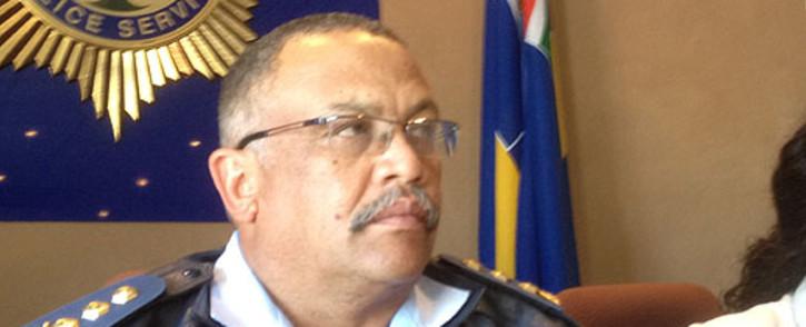 FILE: Western Cape Police Commissioner Arno Lamoer. Picture: Regan Thaw/EWN.
