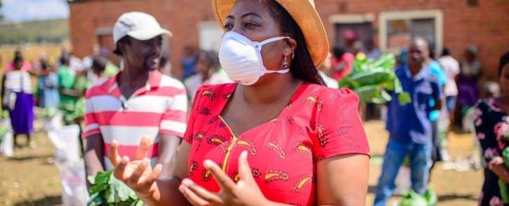 MDC MP Joanna Mamombe. Picture: @JoanaMamombe/Twitter