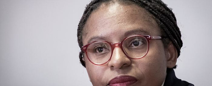 FILE: Acting Minister in the Presidency, Khumbudzo Ntshavheni. Picture: Xanderleigh Dookey/EWN