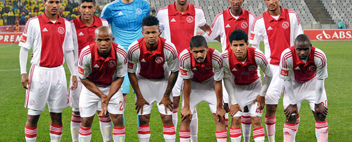 Ajax Cape Town team photo on 13 August 2014. Picture: Abed Ahmed/EWN