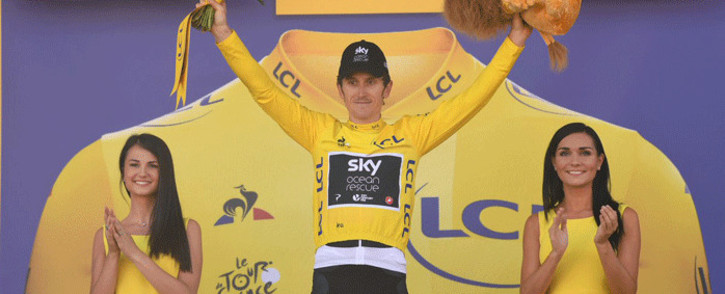 FILE: Team Sky's Geraint Thomas wins the 11th stage of the Tour de France on 18 July 2018. Picture: @LeTour/Twitter
