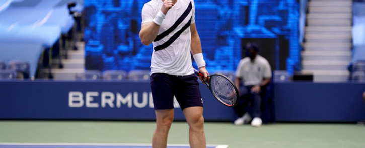 FILE: Andy Murray in action during the US Open on 3 September 2020. Picture: @usopen/Twitter