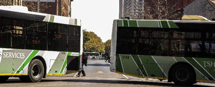 FILE. Buses in Tshwane streets. Picture: Kayleen Morgan/EWN