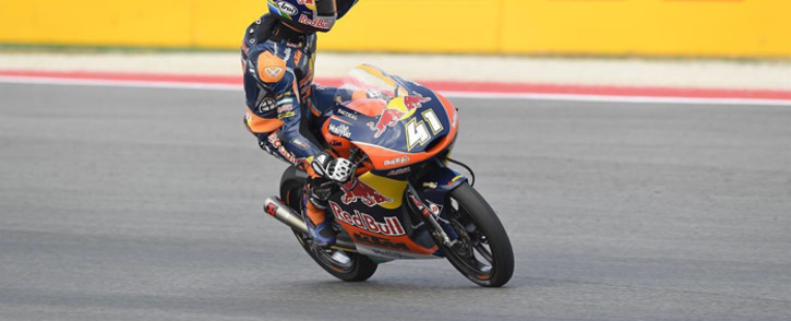 Brad Binder has been crowned the new Moto3 World Champion. Picture: @MotoGP