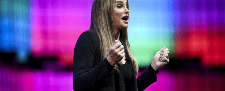 FILE: Transgender rights advocate and former Olympian Caitlyn Jenner delivers a speech during the 2017 Web Summit in Lisbon on 9 November 2017. Picture: AFP