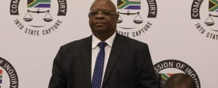 FILE: Deputy Chief Justice Raymond Zondo at the state capture inquiry. Picture: Eyewitness News