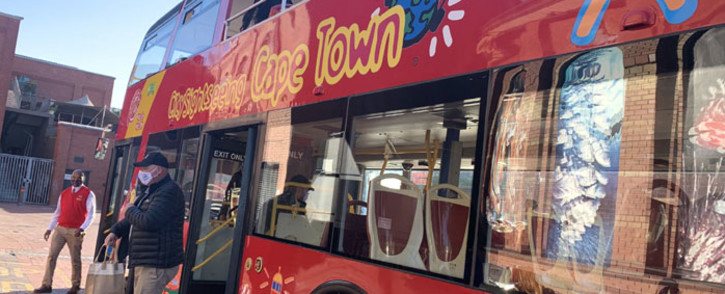 A Cape Town sightseeing bus. Picture: Kaylynn Palm/Eyewitness News