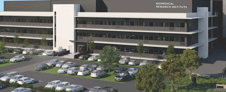 An artist's impression of Stellenbosch University's Biomedical Research Institute. Picture: Supplied