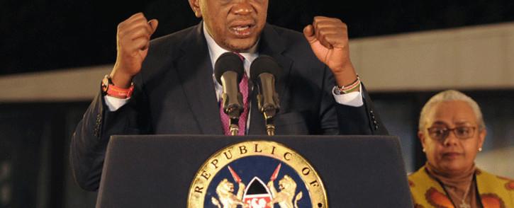 Kenya's President Uhuru Kenyatta. Picture: AFP