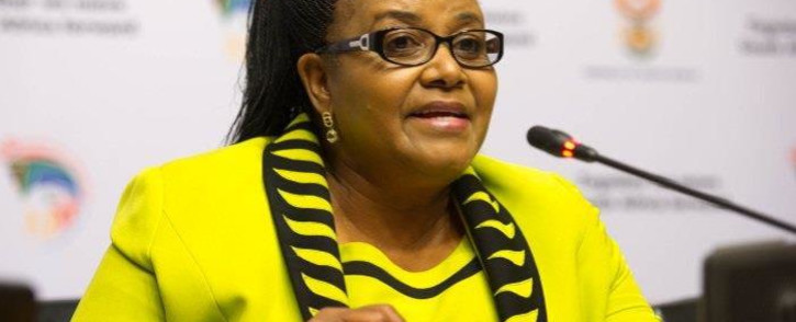 FILE: Minister of Environmental Affairs Edna Molewa. Picture: GCIS.
