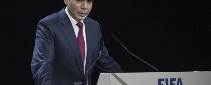 Fifa presidential candidate Prince Ali Bin al-Hussein. Picture: EPA/Patrick B. Kraemer.
