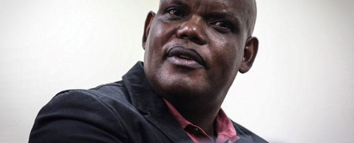 Former acting police commissioner Khomotso Phahlane appears in the Specialised Commercial Court in Johannesburg on fraud and corruption charges.  Picture: Abigail Javier/EWN.