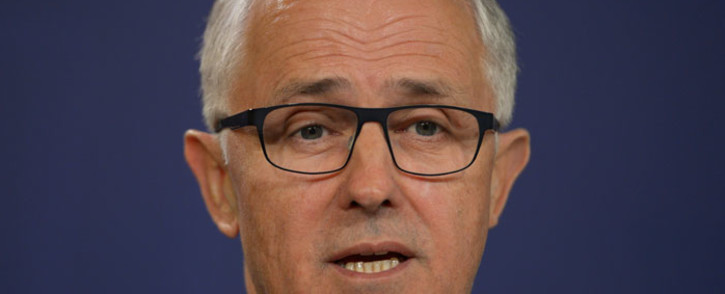 Malcolm Turnbull was voted in as Australian Prime Minister on 14 September 2015. Picture: AFP
