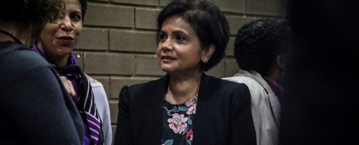 NPA boss Shamiela Batohi at the opening of Booysens Magistrates Court. Picture: Abigail Javier/EWN