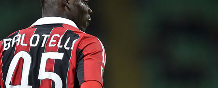 FILE: AC Milan and Italian national team striker Mario Balotelli. Picture: AFP.