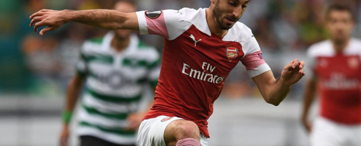 FILE: Arsenal midfielder Henrikh Mkhitaryan. Picture: @HenrikhMkh/Twitter