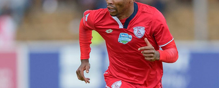 Free State Stars winger Sinethemba Jantjie. Picture: @FreeStateStars/Twitter