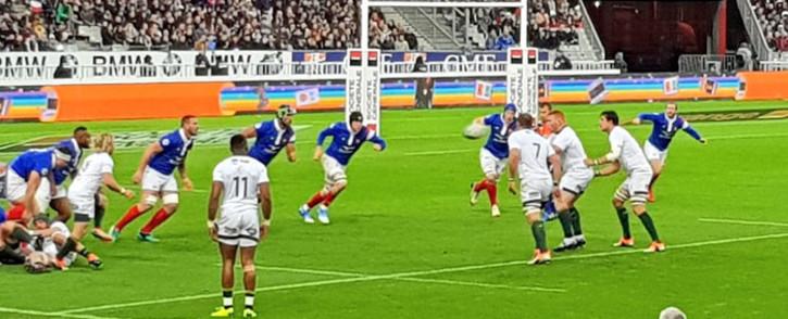 The Springboks play France at the Stade de France on 10 November 2018. Picture: @Springboks/Twitter