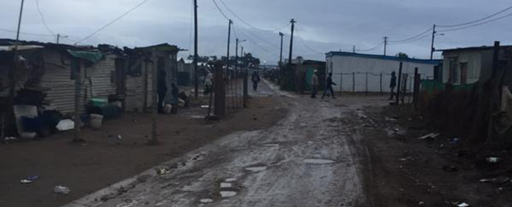 FILE: The street where Elna Japhta's body was found in Bredasdorp. Picture: Masa Kekana/EWN