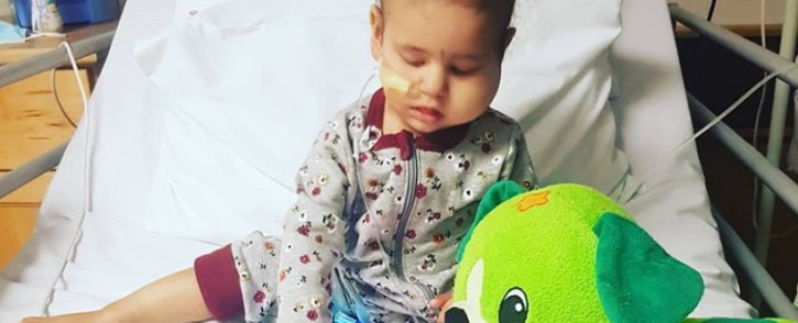 Mairah Hassan has been diagnosed with stage 4 high-risk neuroblastoma, a form of childhood cancer. Picture: Mairah's Miracle/Instagram