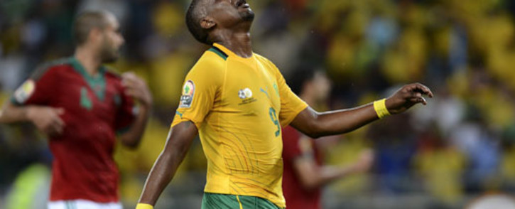 FILE: The former Bafana Bafana and Kaizer Chiefs striker Katlego Mphela joined the NFD side on Tuesday. Picture: AFP.