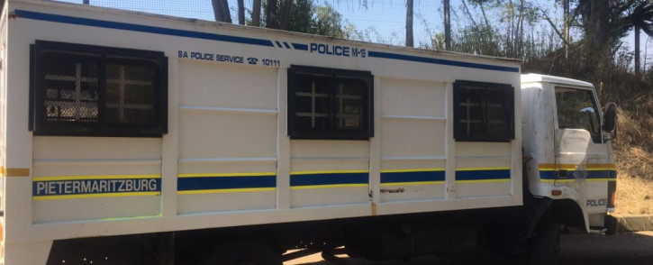 Police have launched a manhunt after awaiting trial prisoners escaped from a truck transporting them from the Pietermaritzburg (PMB) New Prison to the PMB Magistrates Court on 28 April 2021. Picture: Nkosikhona Duma/Eyewitness News.