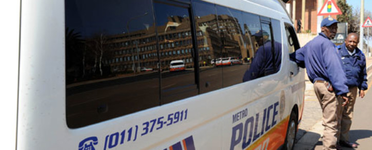 Johannesburg Metro Police Department.