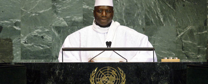 FILE: President of the Gambia Yahya Jammeh. Picture: United Nations.