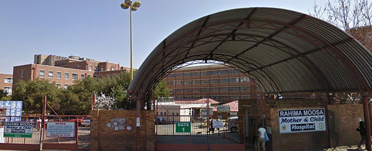 Rahima Moosa Mother & Child Hospital in Coronationville, Johannesburg. Picture: Google Earth