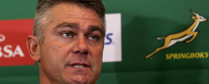Springbok coach Heyneke Meyer. Picture: Sapa.