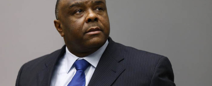 FILE: Former Congolese vice-president Jean-Pierre Bemba sits in the courtroom of the International Criminal Court in The Hague on 21 June 2016. Picture: AFP
