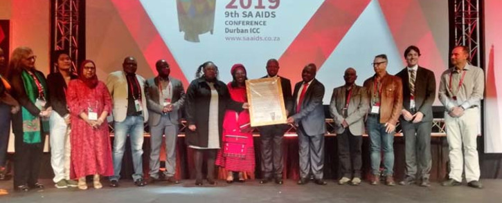 The 9th South African Aids Conference kicked off in Durban on Tuesday. On the day of its opening, Health Minister Dr Zweli Mkhize launched the SA Human Rights Plan. Deputy President Mabuza is expected outline the implementation of this plan. Picture: Nkosikhona Duma/EWN.