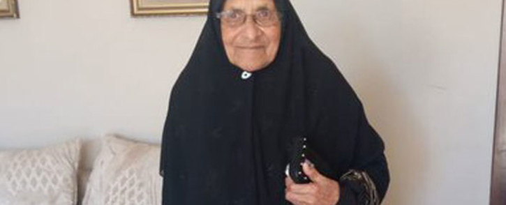 Ninety-eight-year-old Sharifah Khan. Picture: Supplied.