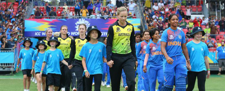 Four-times champions Australia finished second in Group A after being upset in their first match of the tournament by India. Picture: Twitter/@ICC.