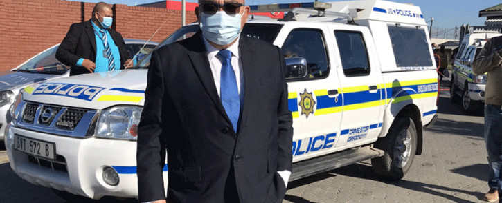 FILE: Western Cape Community Safety MEC Albert Fritz at the Khayelitsha police station on 17 May 2021. Picture: Lizell Persens/Eyewitness News