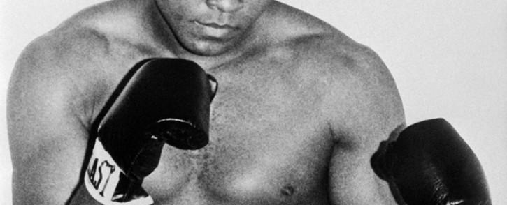 Former world heavyweight champion Muhammad Ali. Picture: AFP.