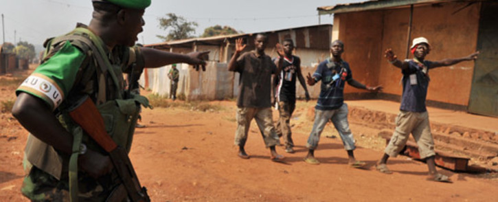 FILE: The latest clashes began after Chadian troops tried to escort a convoy of Muslims out of the city. Picture: AFP.