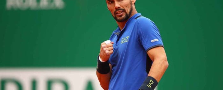 Fabio Fognini claimed his ninth ATP singles title with a shock win over Dusan Lajovic in the first clay court tournament of the season. Picture: @ROLEXMCMASTERS/Twitter