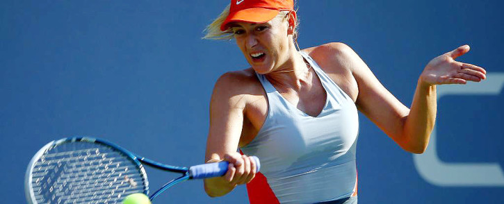 FILE. Maria Sharapova showed her sheer class and dominance as she beat Eugenie Bouchard. Picture: @USOpen.