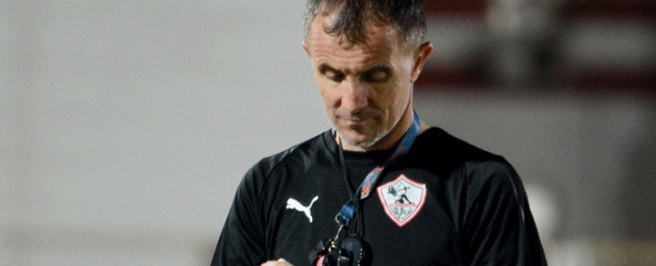 FILE: Milutin 'Micho' Sredojević during his time at Zamalek. Picture: @ZSCOfficial/Twitter