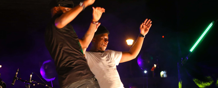 FILE: House music duo Black Motion during their performance at the 19th Cape Town International Jazz Festival. Picture: Bertram Malgas/EWN