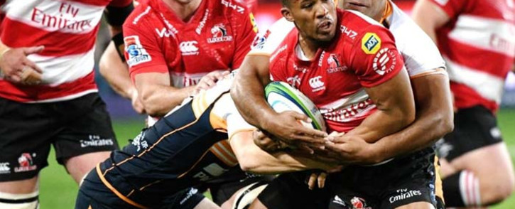FILE: The Emirates Lions produced a late surge to beat the Brumbies 42-24 at Emirates Airline Park. Picture: @LionsRugbyCo/Twitter.