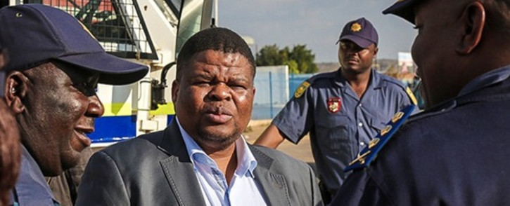 State Security Minister David Mahlobo. Picture: Supplied.
